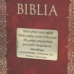 grawerowana dedykacja na biblia