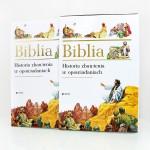 ilustrowana biblia na prezent z okazji I komunii