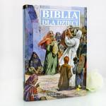 personalizowana biblia na komunię dla chłopca