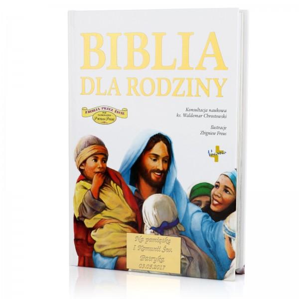 spersonalizowany biblia na komunię