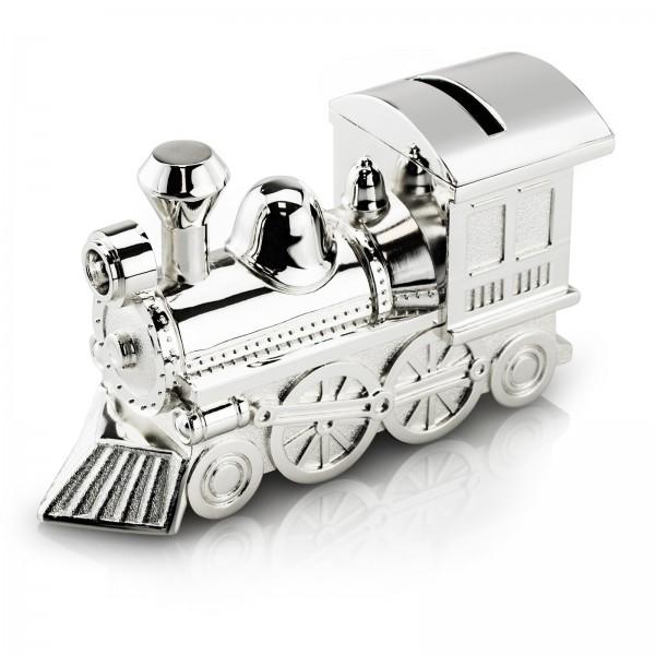 skarbonka lokomotywa na prezent z okazji komunii